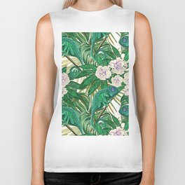 Chameleons and Camellias Biker Tank