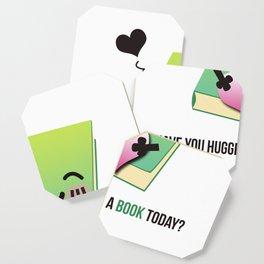 Book Emoji Love Coaster