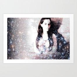 A Bright Star Elizabeth Taylor Art Print