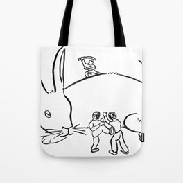 Kuo Shu Rabbit Tote Bag