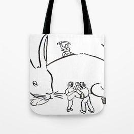 Kuo Shu Rabbit Tote Bag