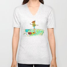 Hang 10 Lady Slider Unisex V-Neck