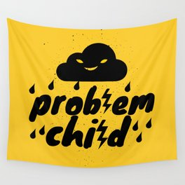Problem Child Wall Tapestry