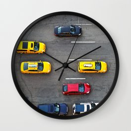 NYC Traffic Wall Clock