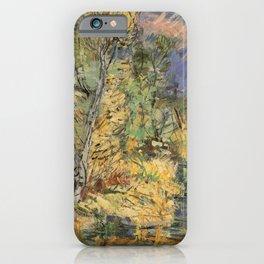 Kida Kinjiro - Autumn at Riverside (1960) iPhone Case
