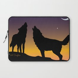 Howl Together Laptop Sleeve