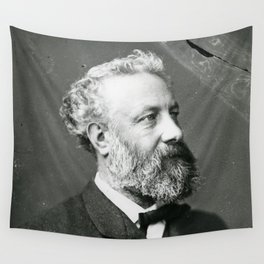 portrait of Jules Verne by Nadar Wall Tapestry
