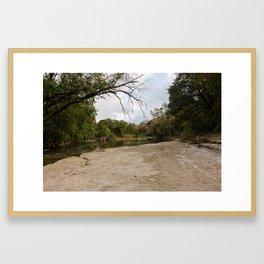 Brushy Creek Framed Art Print
