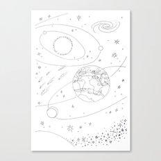 Earth Canvas Print