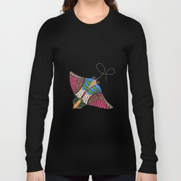 Colorful Stingray Long Sleeve T-shirt