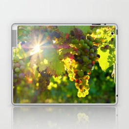 Wine Grapes in the Sun Laptop & iPad Skin