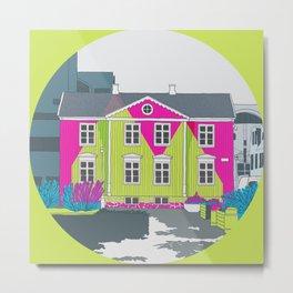 Reykjavik Boulevard #13 Metal Print
