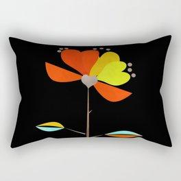 Fantasy . Flower . Love . Rectangular Pillow