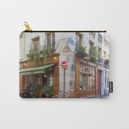Cute Corners of Paris Carry-All Pouch