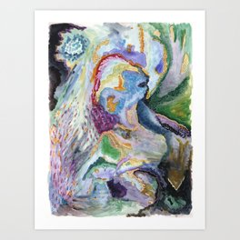 Cry for Spring Art Print