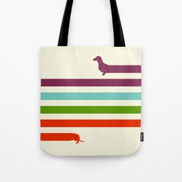(Very) Long Dachshund Tote Bag