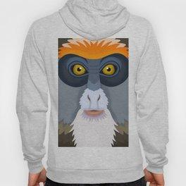 De Brazza's Monkey Hoody