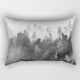 Forest Melody - Redwood National Park Rectangular Pillow