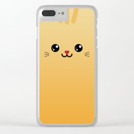 Tiny Kitty (Chibipalz) Clear iPhone Case