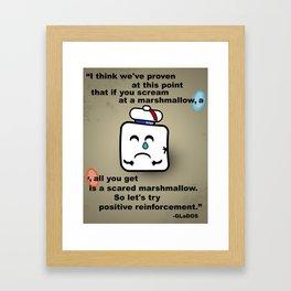 Marshmallow Framed Art Print