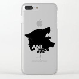Wolf Kind Clear iPhone Case