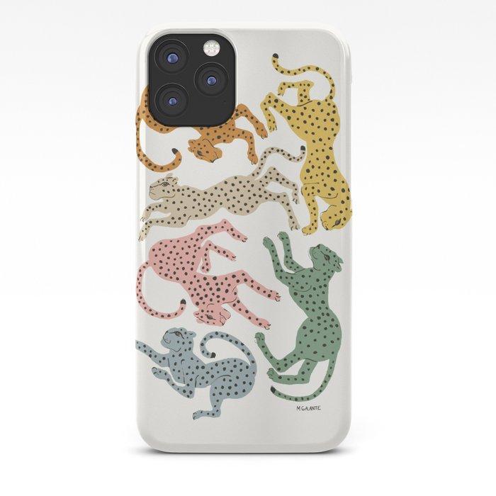 Rainbow Cheetah iPhone Case