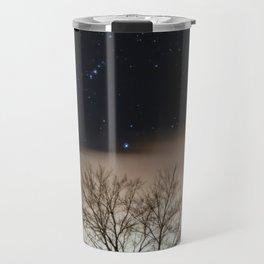 Cold Winter Night Travel Mug