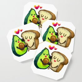 Avocado Toast Coaster