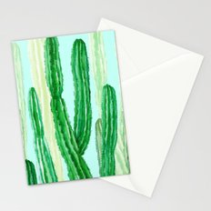 cactus in the nature Stationery Cards