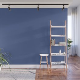 Indigo Evening ~ Soft Denim Wall Mural