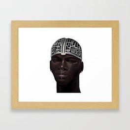 The Silent Brother Framed Art Print