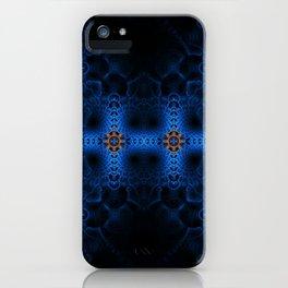 Fractal Art - Arctic Cross iPhone Case