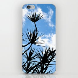 summer silhouettes iPhone Skin