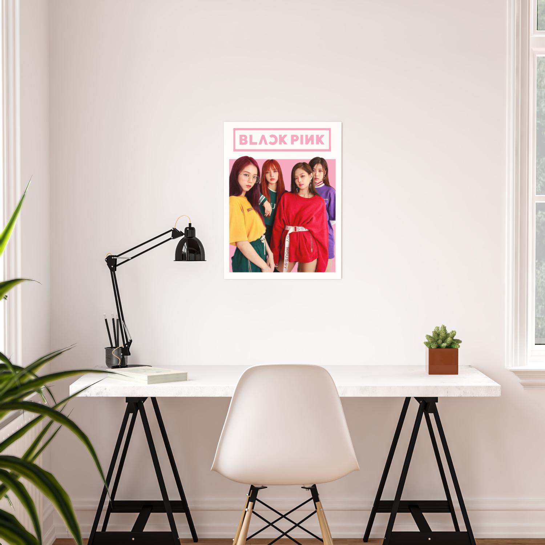 Blackpink - Kpop Idol Poster by pinkvalley