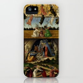 "Sandro Botticelli ""The Mystical Nativity"" iPhone Case"