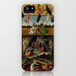 "Sandro Botticelli ""The Mystical Nativity"" iPhone Case"