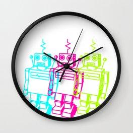 Robot Machine  Electronic Control Technology Gift Wall Clock