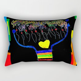 thoughtforms Rectangular Pillow