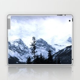 Mystic Three Sisters Mountains - Canadian Rockies Laptop & iPad Skin