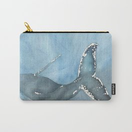 Humpback Whale Watercolor Carry-All Pouch