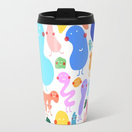 Bacterial world Travel Mug