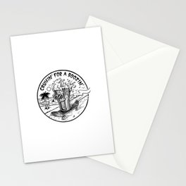 Cruisin' for a Boozin' Stationery Cards
