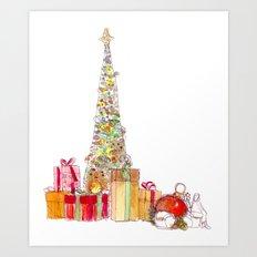 Season of Gifts Art Print