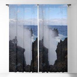 Ocean Explosion Blackout Curtain