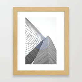The Bridge 001 Framed Art Print