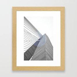 The Bridge 001 Framed Art Print