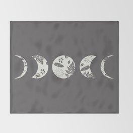 Lunar Nature Throw Blanket