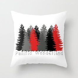 Pacific Wonderland Throw Pillow