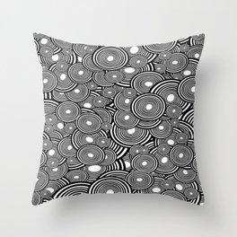Circulating Throw Pillow