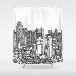 New York View 2 Shower Curtain
